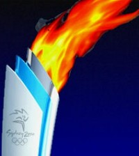 The Olympic Torch - Sydney 2000